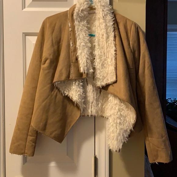 Piko 1988 Jackets & Blazers - Suede-Wool Jacket